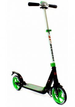 Самокат для подростка 21st Scooter SKL-03A Зелены