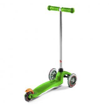 Трехколесный самокат Micro Mini Green