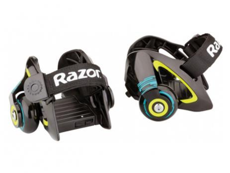 Детские ролики на обувь Razor Jetts Зелёный