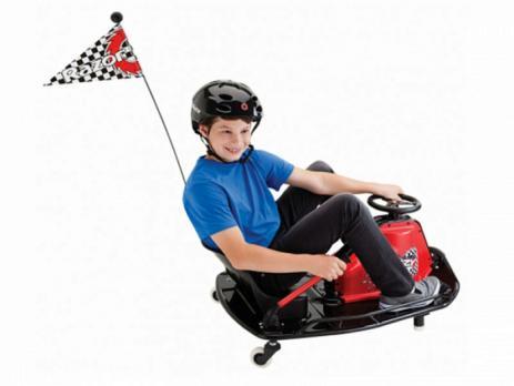 Детский электро дрифт-карт Razor Crazy Cart